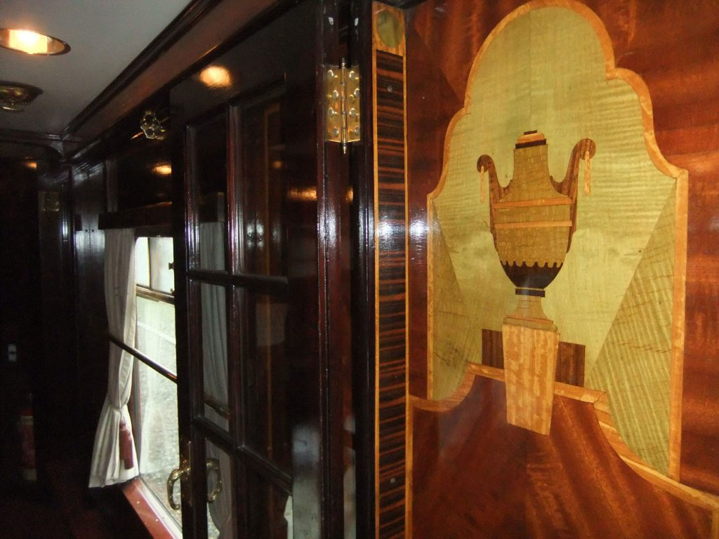 More marquetry, and a window.